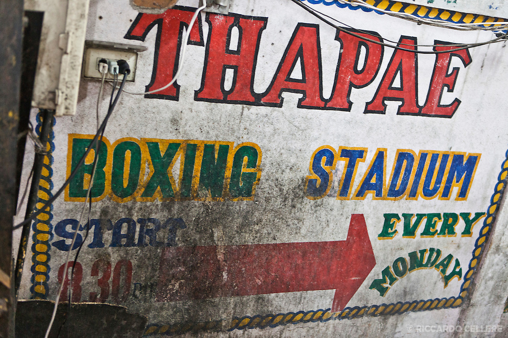 Muay Thai (Thai Boxing) fight night in Chiang Mai, Thailand