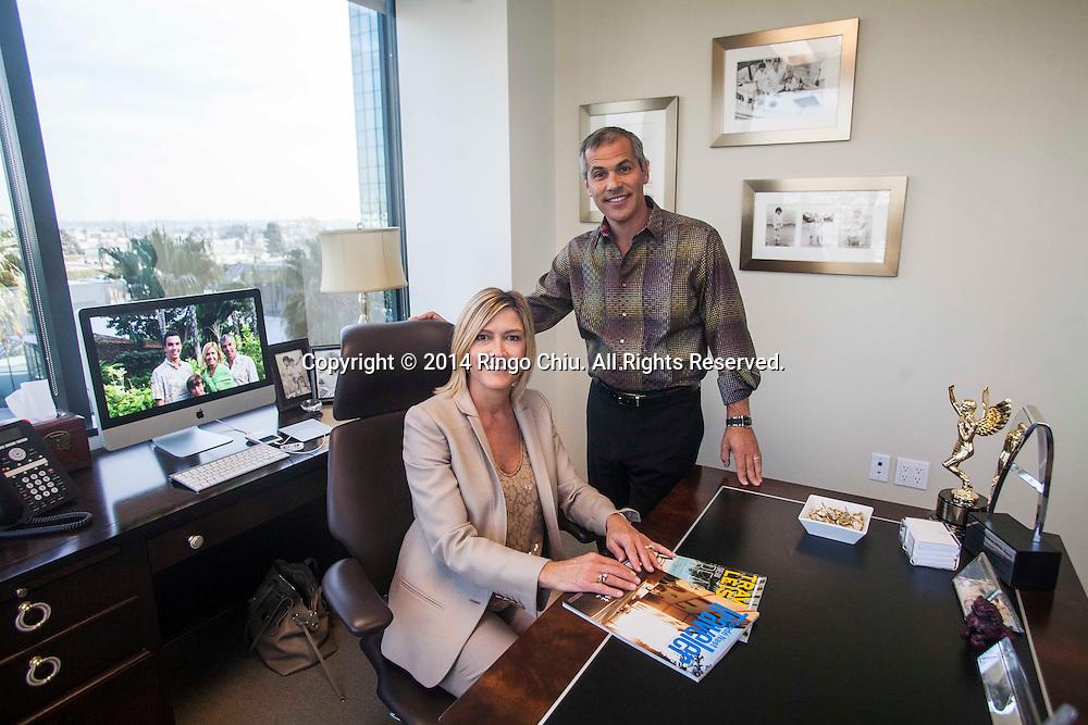 Karen Murphy and Brett O&rsquo;Brien, co-founders of Murphy O&rsquo;Brien.<br /> (Photo by Ringo Chiu/PHOTOFORMULA.com)