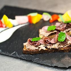 Chef Robert Trzópek - Restaurant Tamka 43 - http://tamka43.pl/index.php?lang=en - ul. Tamka 43.00-355 Warszawa.phone: +48 22 44 16 234.info@tamka43.pl  - Oca con zucca, pepe, scalogno e purea di pera