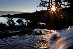 """Emerald Bay Sunrise 6"" - This sunrise was photographed from Eagle Falls above Emerald Bay, Lake Tahoe."