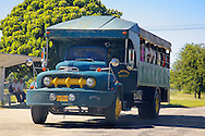 Truck in Yara, Granma Province, Cuba.