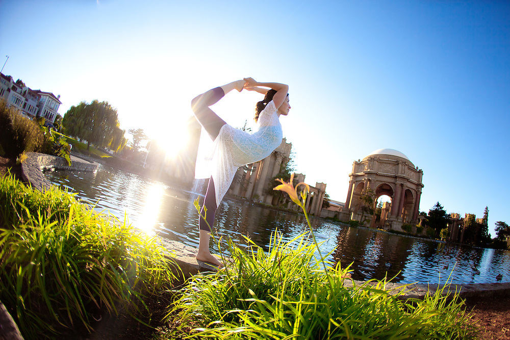 Dana Schachter at the Palace of fine arts, San Francisco
