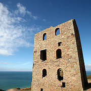 Wheal Coates engine house, , St Agnes, Cornwall, UK