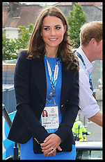 JUL 29 2014 Duchess of Cambridge at the Commonwealth Games
