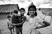 Humanitarian Photography.<br /> <br /> IDP camp Mullativu District. Sri Lanka