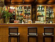 Cocktail bar at Matangi Private Island Resort, Fiji.