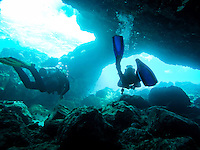Maui Beach Vacation 2015 - Scuba Diving the Five Caves dive on the shores of Maui near Kihei<br /> <br /> &copy;2015, Sean Phillips<br /> http://www.RiverwoodPhotography.com