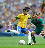 20120811  Football Brazil vs Mexico. London. UK