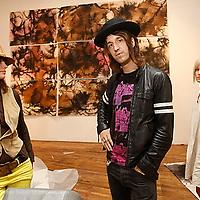 Joseph Arthur for Nite Out on October 14, 2008.Photo Credit; Rahav Segev/Photopass.