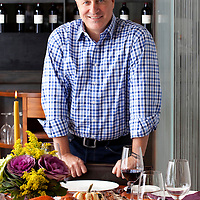 New York, NY  Chef Tom Colicchio prepares a Thanksgiving meal at his restaurant Kraft.