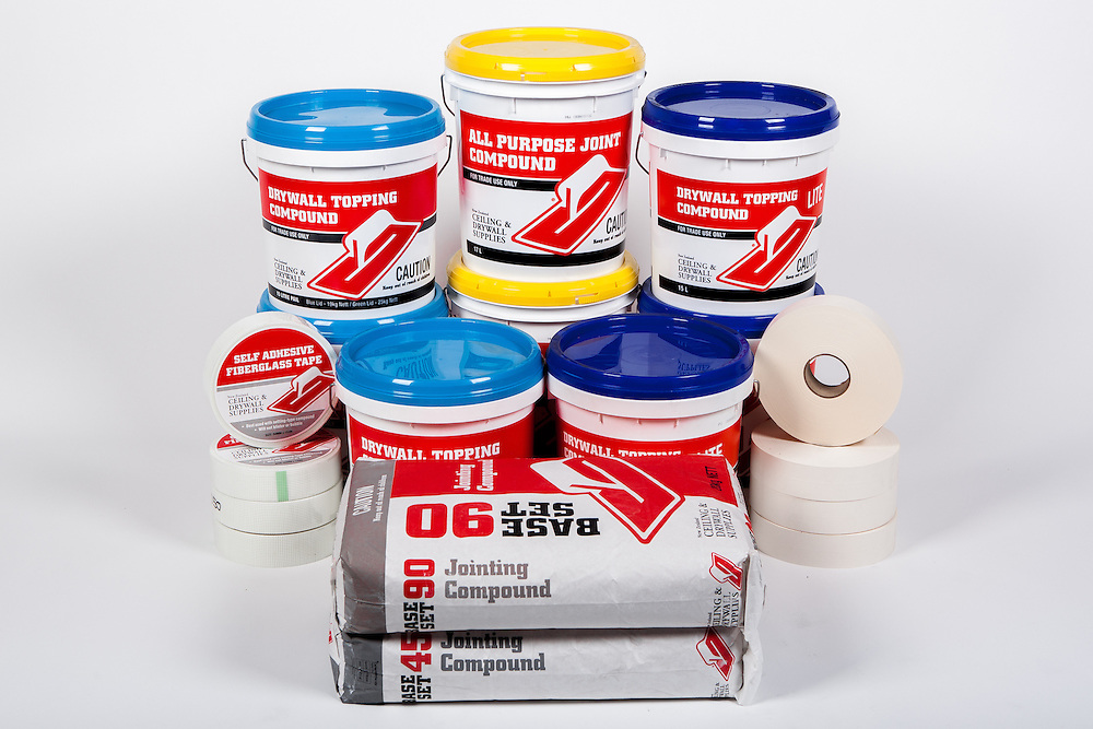 NZ Ceiling and Drywall Supplies product photos. May 2013. Photo: Gareth Cooke/Subzero