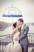 Ashley + Dave, a pretty + rainy wedding storey