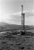 1963 - Ambassador Oil drilling site, Glengevlin, Dowra, Co. Cavan