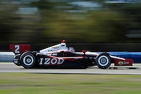 Ryan Briscoe, INDYCAR Spring Training, Sebring International Raceway, Sebring, FL 03/05/12-03/09/12