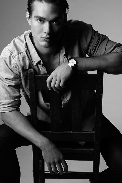 John Rocke posing as Johnny Depp