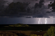 the first storm of the winter in maagan michael, preformed lighting with no rain for 2 hours<br />
