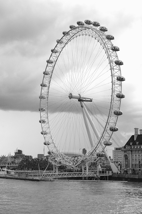Eye Of the Storm Clouds - London, UK - Black & White