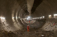 The Crossrail project (118 kilometers from Maidenhead to Heathrow airport)  is built by a consortium of companies. It will open at the end of 2018.