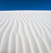 Abstract sand patterns - White Sands National Monument, New Mexico
