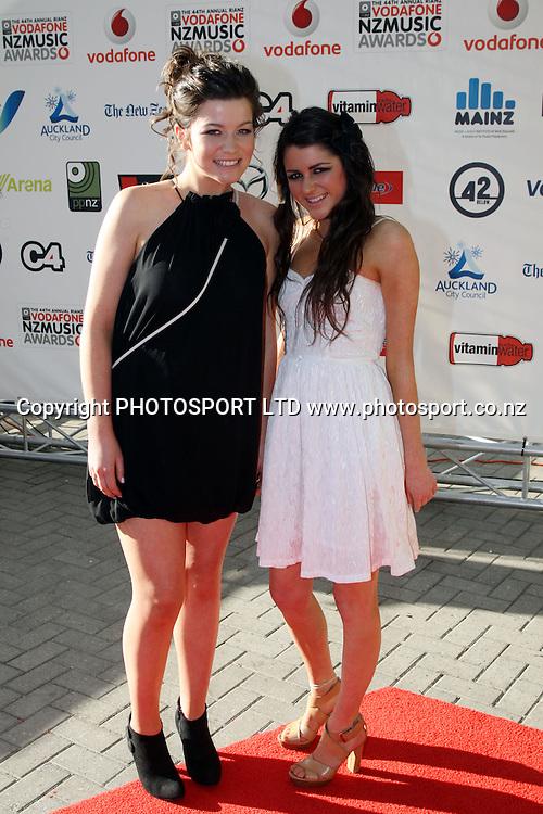 Vodafone New Zealand Music Awards. Vector Arena, Auckland City, New Zealand. 8 October 2009. Photo: PHOTOSPORT