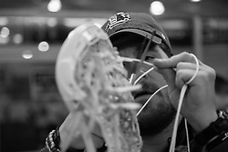 2013 May 23: Jay Bissette of the Duke Blue Devils during a practice session at Maple Zone in Boothwyn, PA.
