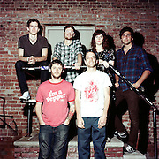 Ohio based band Bethesda, photographed in Brooklyn, New York. June, 2011.