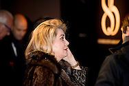 GENEVA 18-1-2016   85  reverso 85 anniversary by jaeger  le coultre <br /> Jaeger-LeCoultre party, Geneva Catherine Deneuve COPYRIGHT ROBIN UTRECHT