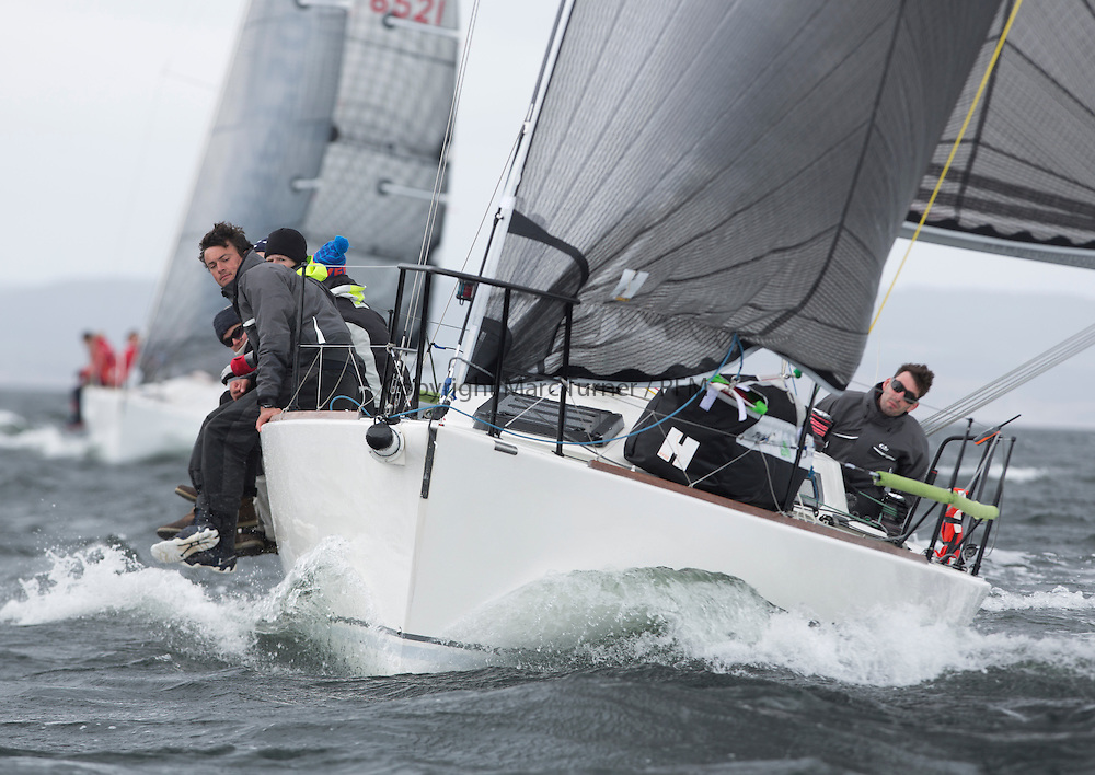 The third days racing at the  Silvers Marine Scottish Series 2015, organised by the  Clyde Cruising Club<br /> Based at Tarbert,  Loch Fyne from 22rd-24th May 2015<br /> <br /> GBR9292C, Wildebeest V, Craig Latimer, RWYC, J92<br /> <br /> <br /> Credit : Marc Turner / CCC<br /> For further information contact<br /> Iain Hurrel<br /> Mobile : 07766 116451<br /> Email : info@marine.blast.com<br /> <br /> For a full list of Silvers Marine Scottish Series sponsors visit http://www.clyde.org/scottish-series/sponsors/