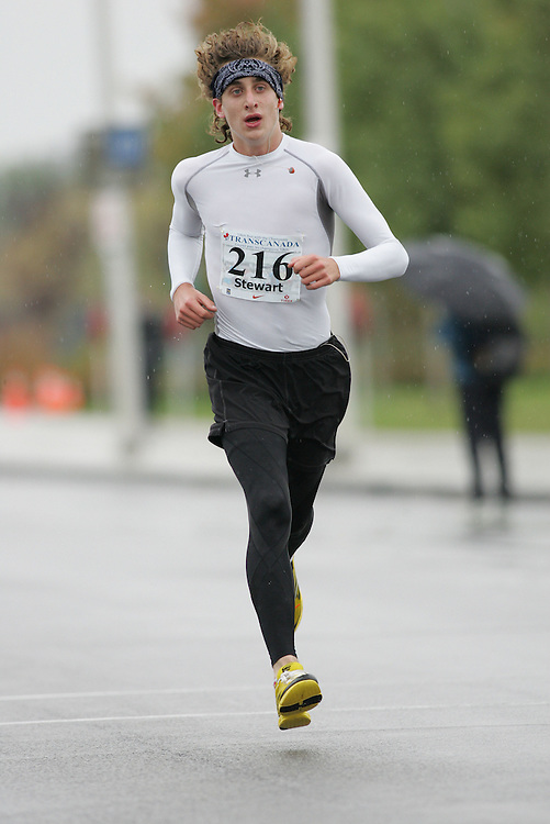 (13/10/2007--Ottawa) TransCanada 10K Canadian Championship run by Athletics Canada. The athlete in action is THOR