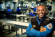TSA agent at the philadelphia international airport
