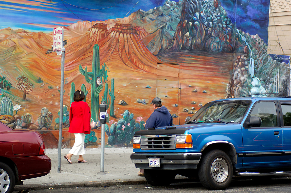 Murales, Mission District, San Francisco, California, United States of America