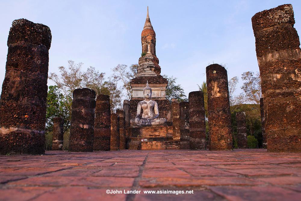Wat Traphang Ngoen Sukhothai  John Lander Photography