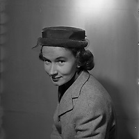 Special for Kelly's Advertising Agency - Hats (Winston's) at Dame St.24/11/1954