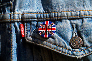 The Who badge on a Levi's Denim Jacket - 1990