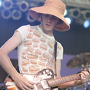 Gomez performs at Bonnaroo 2006.<br /> Photo by Bryan Rinnert<br /> June 17, 2006; Manchester, TN.  2006 Bonnaroo Music Festival.