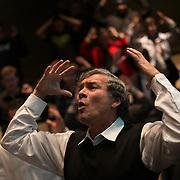 Global Engagement Summit at Wolff Auditorium. Photo by Rajah Bose