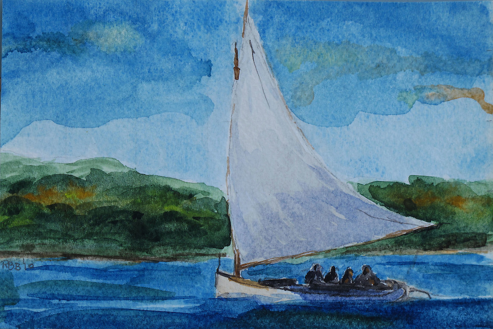 Watercolor,    <br /> Private Collection