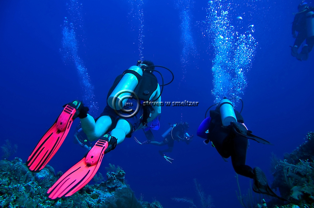 West Wall, Scuba Diving, Grand Cayman, Bonnie's Arch