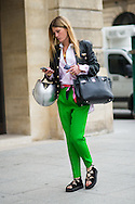 Pink and Green, Outside Schiaparelli