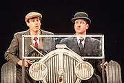 Perfect Nonsense is adapted from the Jeeves and Wooster stories of P.G. Wodehouse. Sean Foley will directs Matthew Macfadyen and Stephen Mangan as the legendary duo  at the Duke of York's Theatre. Picture shows Matthew Macfadyen (Jeeves) & Stephen Mangan (Bertie Wooster).