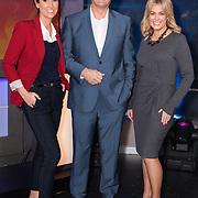 Samantha Armytage joins Sunrise. L/R Natalie Barr, David Koch and Samntha Armytage in the Sunrise Studio, Channel 7, Sydney.