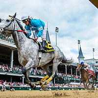 May 01, 2014: On Fire Baby with Joe Johnson up wins the La Troienne Stakes at Churchill Downs in Louisville Ky. Alex Evers/ESW/CSM