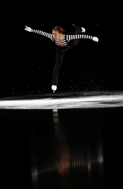 (Ottawa, ON---2 November 2008)  Fumie Suguri of Japan skates in the Gala show at the 2008 HomeSense Skate Canada International figure skating competition.  Photograph copyright Sean Burges/Mundo Sport Images (www.msievents.com).
