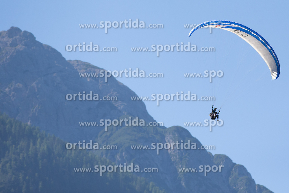 08.09.2012, Lienz, AUT, Red Bull Dolomitenmann 2012, im Bild features vom Paragleiter // during Red Bull Dolomitenmann Lienz, Austria on 2012/09/08. EXPA Pictures © 2012, PhotoCredit: EXPA/ Johann Groder