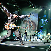 """Bristow, VA. - August 1st, 2010:  Country Music duo Brooks & Dunn perform at Jiffy Lube Live as part of their """"Last Rodeo"""" Tour.  The duo, made up of Kix Brooks and Ronnie Dunn, is calling it quits after 20 years and 20 number one country hits. (Photo by Kyle Gustafson/For The Washington Post)"""