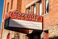 Covellite Theatre, Butte Montana, uptown