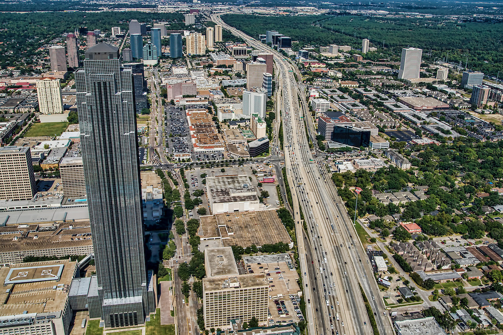 Williams Tower & Interstate 610 (The Loop)