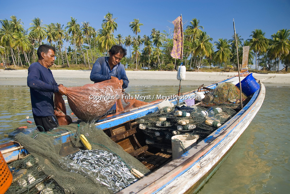 Koh Mook, Thailand, March 2007. The population of Koh mook makes its living from fishery. Koh Mook is the place to be if one is looking for a quiet retreat in a small island in the Andaman Sea. Photo by Frits Meyst/Adventure4ever.com