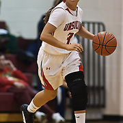 12/27/11 Wilmington DE: Ursuline Academy Guard AdriannaHahn #31 brings the ball up court during a Diamond State Classic game Tuesday Dec. 27, 2011 at St. Elizabeth High School High School in Wilmington Delaware...Special to The News Journal/SAQUAN STIMPSON