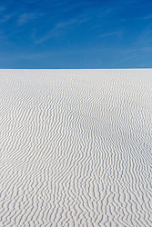 Sand Dune in White Sands, New Mexico